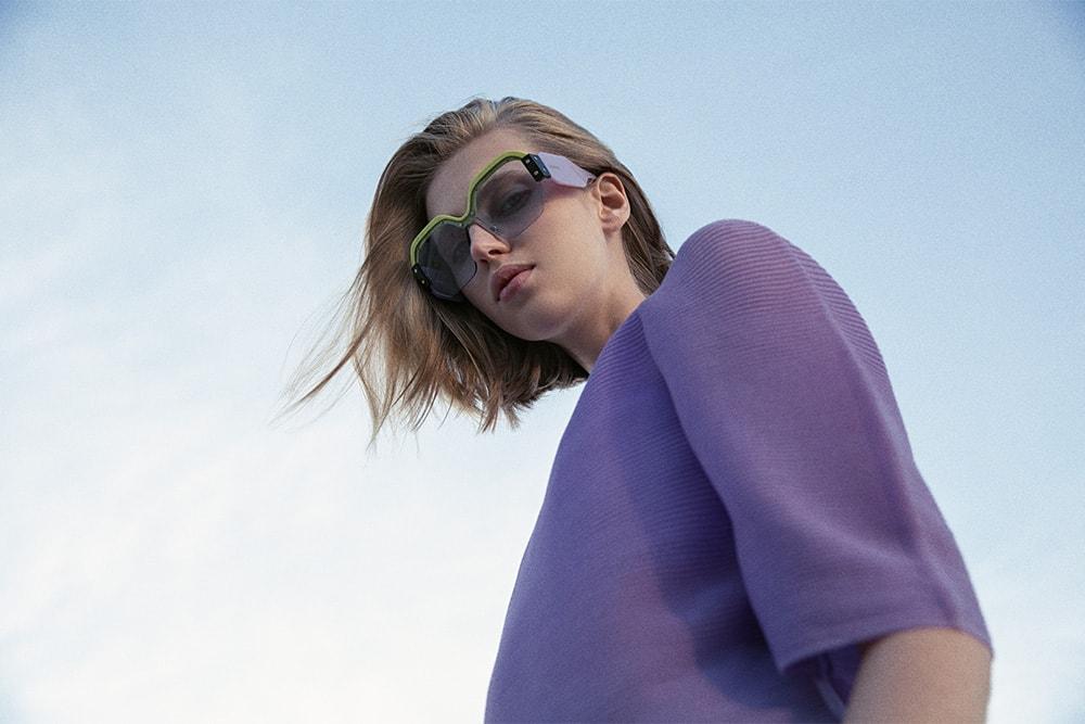 41ce372513e5 Extraordinary Miu Miu Sunglasses in Light Grey  Green colour with Grey  Lenses