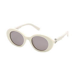 Find yourself on eyerim with Just Cavalli JC908S 21C Sunglasses in White and Grey Colour