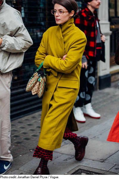 Top street style looks London