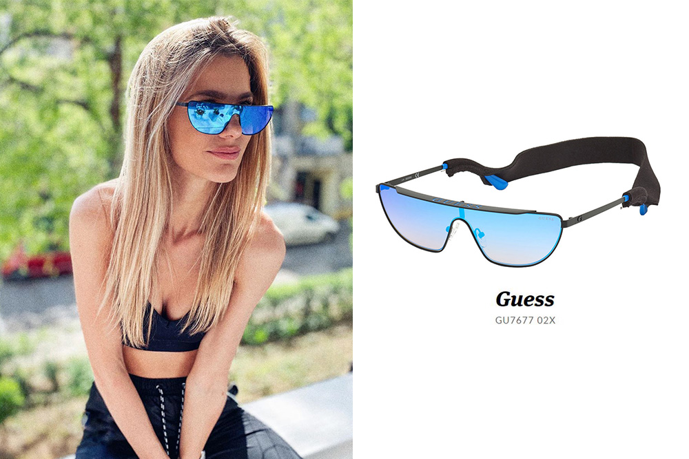 GUESS, Weiss Fanni, Guess GU7677 02X sunglasses, eyerim, eyerim blog, sunglasses