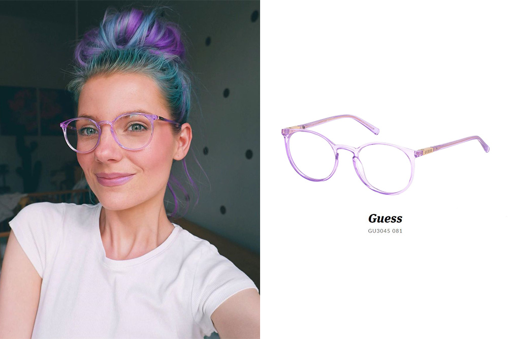 GUESS, Luci Ferikova, Guess GU3045 081 prescription glasses, eyerim, eyerim blog, prescription glasses