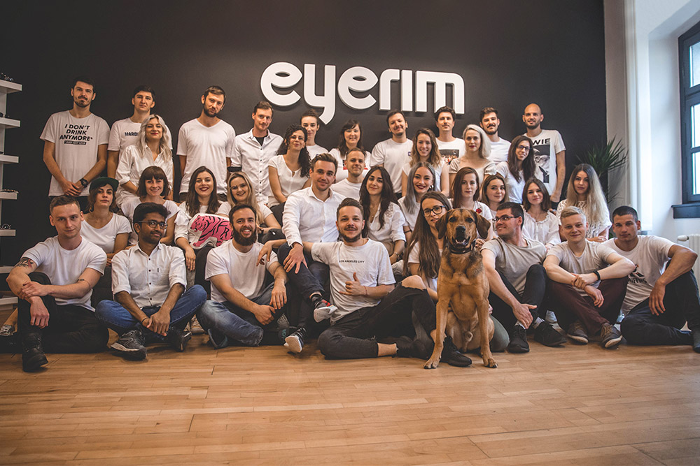 eyerim team startup eyewear investment 2020 Eterus Capital 3TS Capital eyerim blog