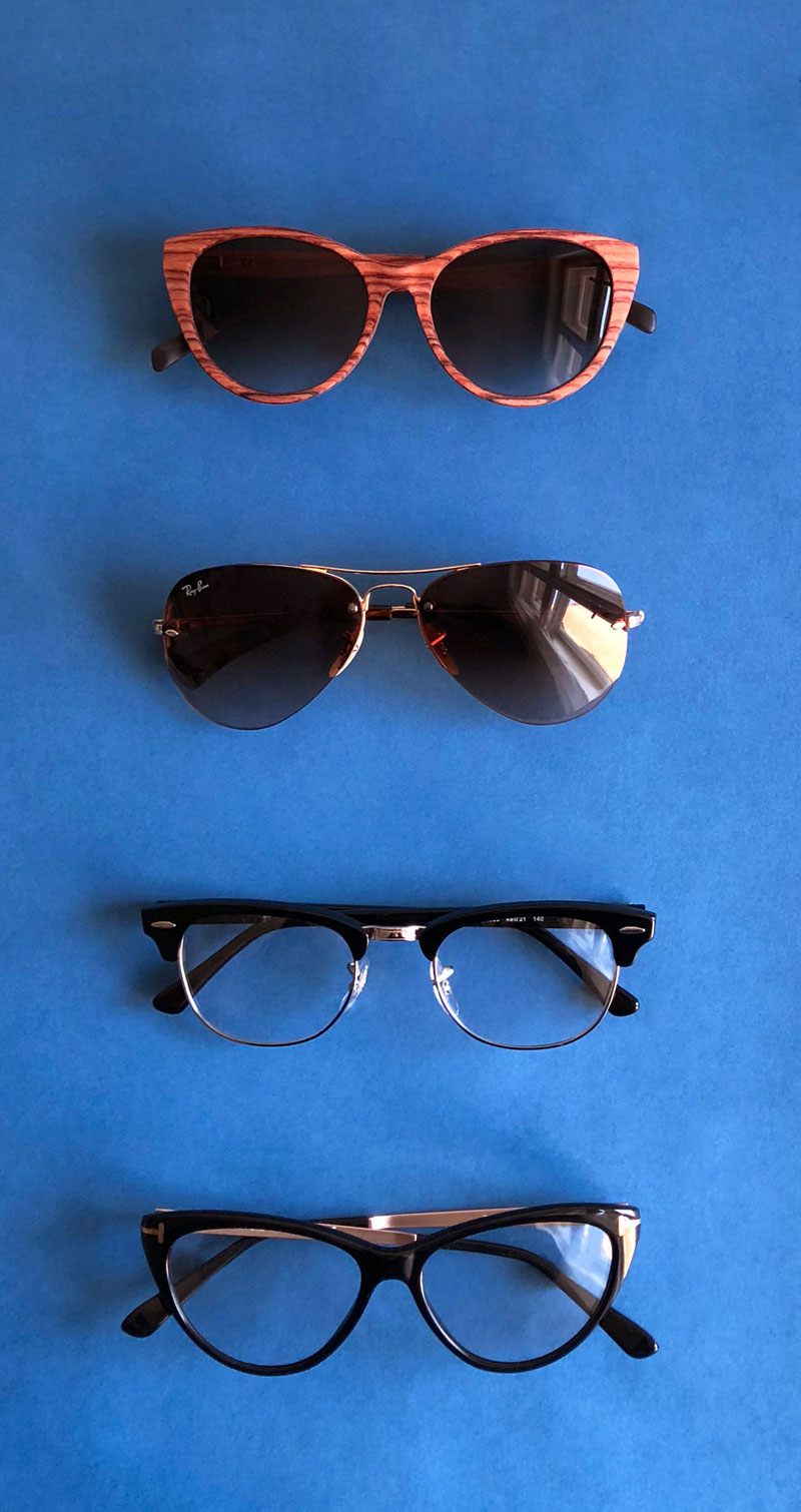 Eyewear Kerbholz, Prada, Tom Ford, Ray-Ban
