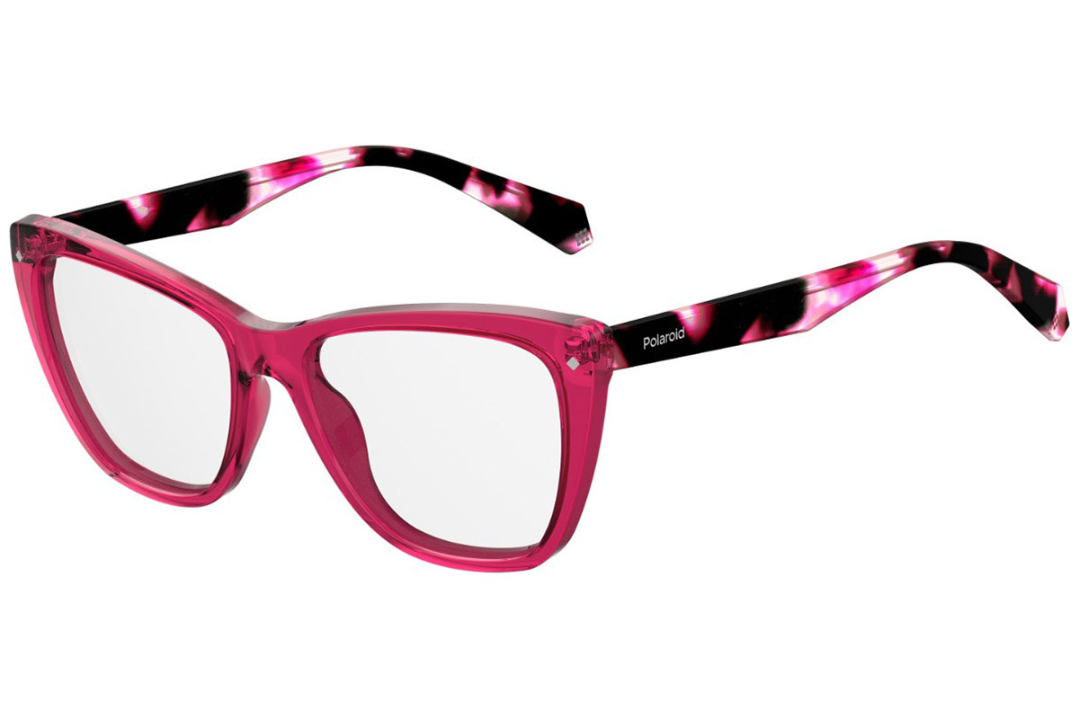 Polaroid 2019 eyewear collection, women's cat-eye prescription glasses