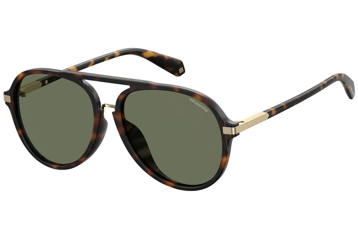 Polaroid 2019 eyewear collection, men's aviator sunglasses