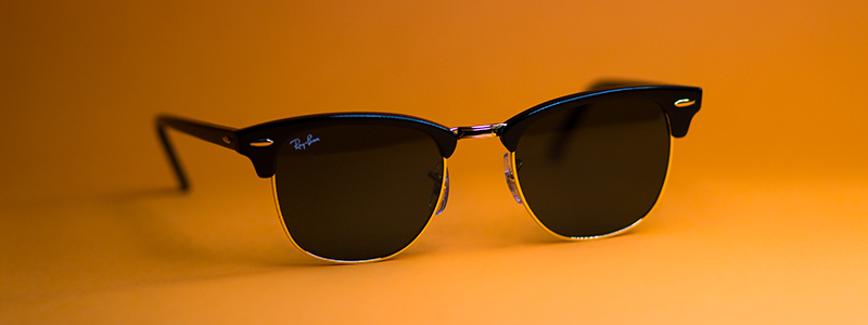 Ray Ban Clubmaster polarized sunglasses